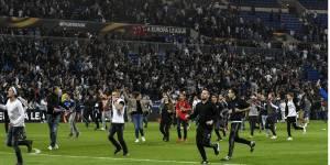 De violents incidents avez retardés le match entre Lyon et Besiktas,  jeudi dernier