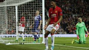 Rashford, auteur du but qui qualifie son équipe